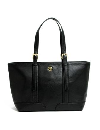 Tory Burch Landon Pebbled Leather Tote