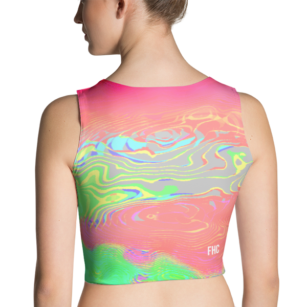 FREQUENCY CROP TOP