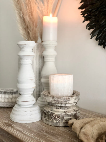 White Candle Stick