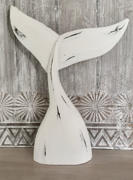 Whale Tail Carving