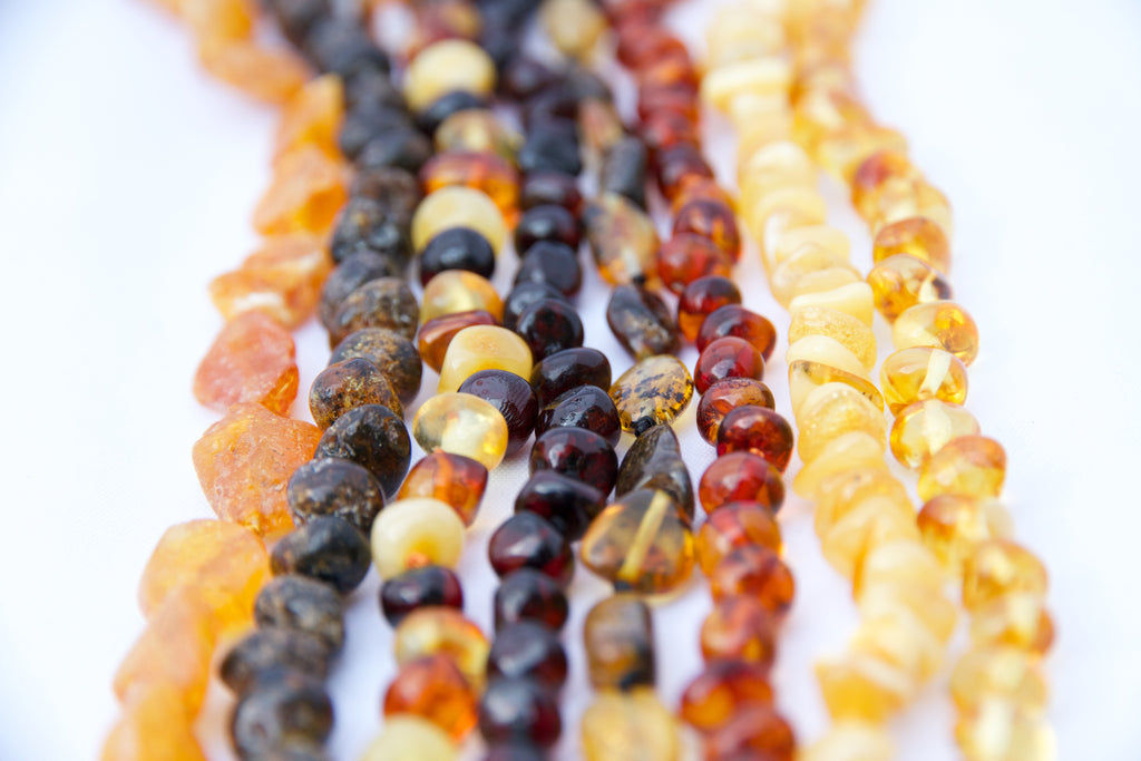 Amber bead colours