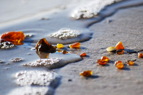 baltic amber beach