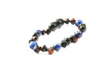 Childrens Amber Bracelet - FORGET-ME-NOT