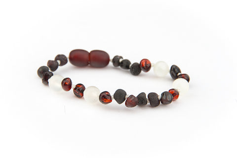 Childrens Amber Bracelet - WILD CHERRY