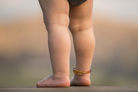 Children's Amber Anklet