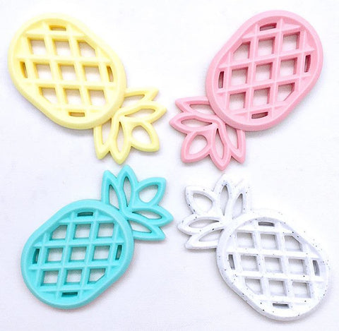 Pastel Pineapple Teethers