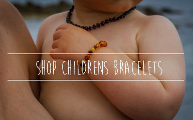 Childrens Amber bracelets