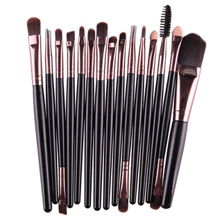 Beauty Box NZ 15 Piece Makeup Brush Set - 14 Colours