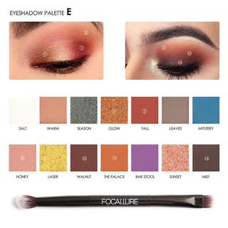 Beauty Box NZ Shimmer and Matte Eye Shadow Palette