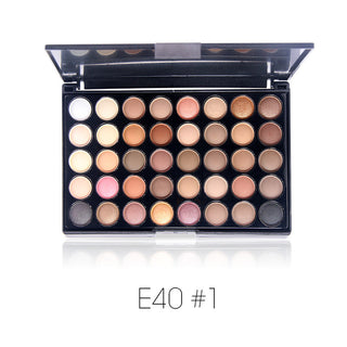Beauty Box NZ 40 Color Matte Eyeshadow Palette - One Off or Subscription