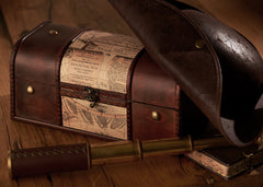 Pirate's Grog Spiced Rum Gift Chest