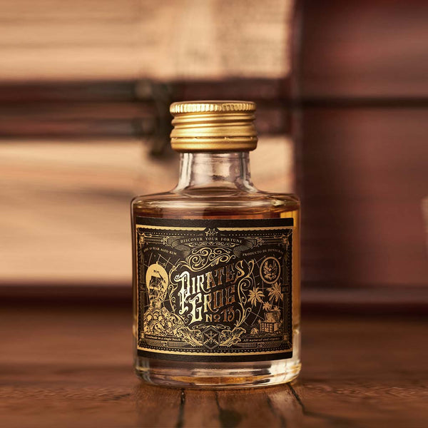 Pirate's Grog No.13 Miniatures<br>(Case of 12) - Pirate's Grog Rum