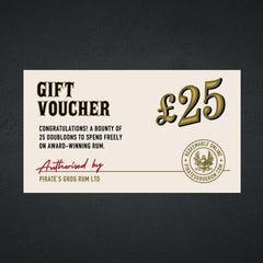 Pirate's Grog <br> £25 Gift Voucher