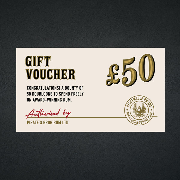 Pirate's Grog <br> £50 Gift Voucher