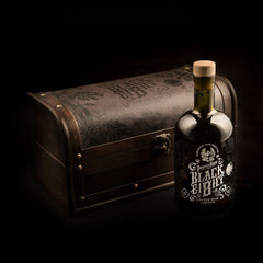 Pirate's Grog Black Ei8ht Gift Chest<br>(Case of 6) - Pirate's Grog Rum