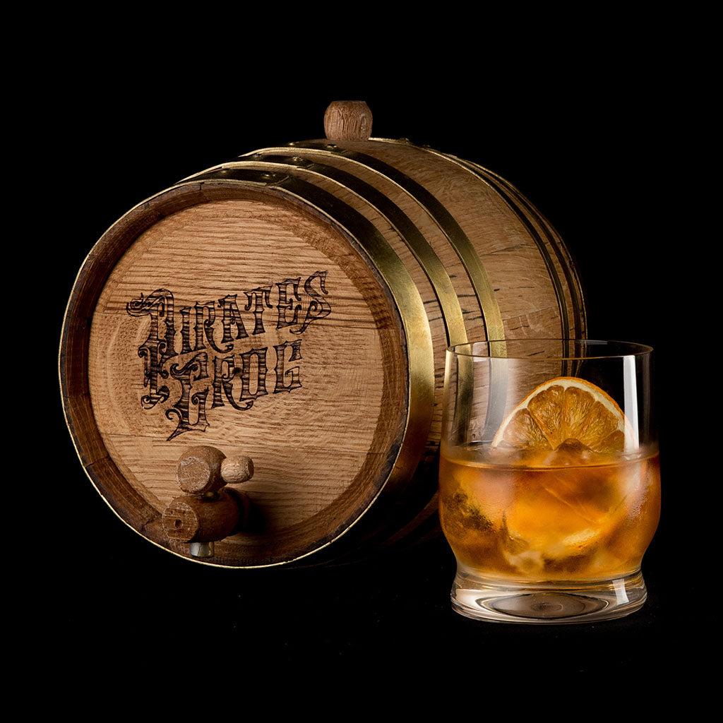 Pirate's Grog Old Fashioned Barrel