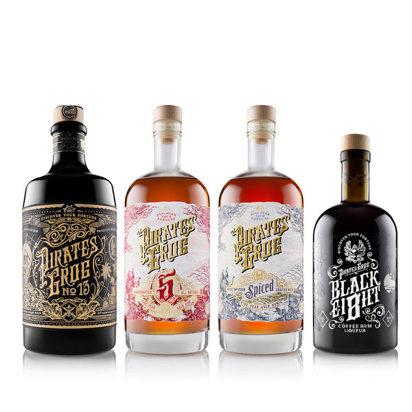 Pirate's Grog Mixed Case<br>(Case of 6) - Pirate's Grog Rum