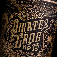 Pirate's Grog No.13 - 13 Year Aged Rum - Pirate's Grog Rum