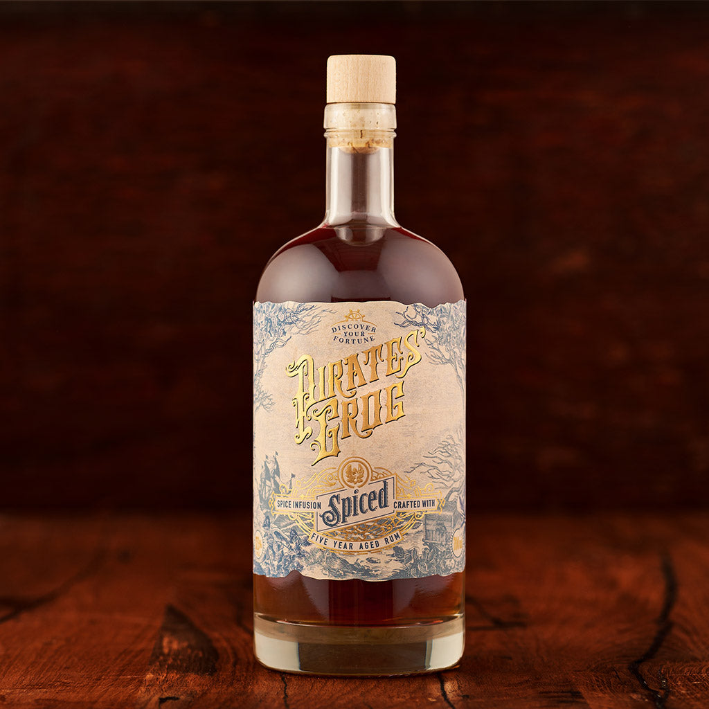 Pirate's Grog Spiced Rum<br>(Case of 6) - Pirate's Grog Rum