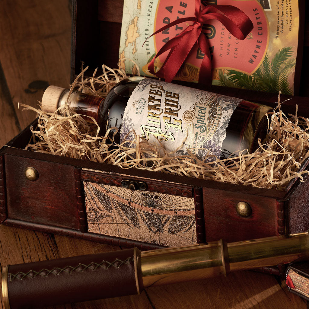 Pirate's Grog Spiced Rum Gift Chest<br>(Case of 4)