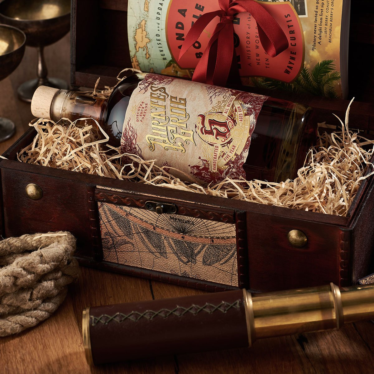 Pirate's Grog Rum Gift Chest