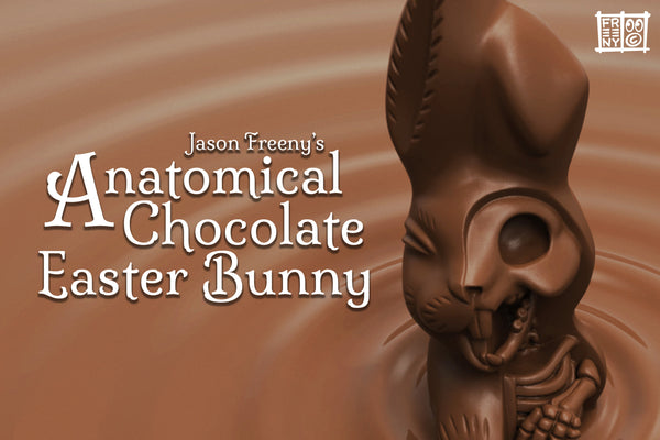 Mighty Jaxx Originals: Jason Freeny's Anatomical Chocolate Easter Bunny 24 hours release