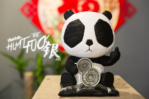 Panda Ink: Huat the Fuck (YIN) by Cacooca