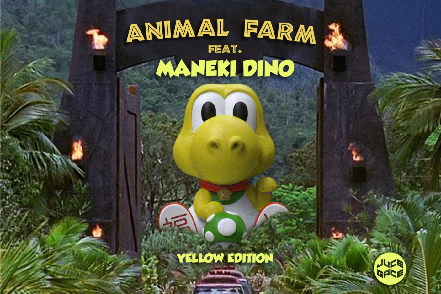 Gather at Animal Farm with Maneki-Dino!