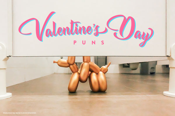 Valentine's Day Puns, Featuring Your Favourite Art Toys