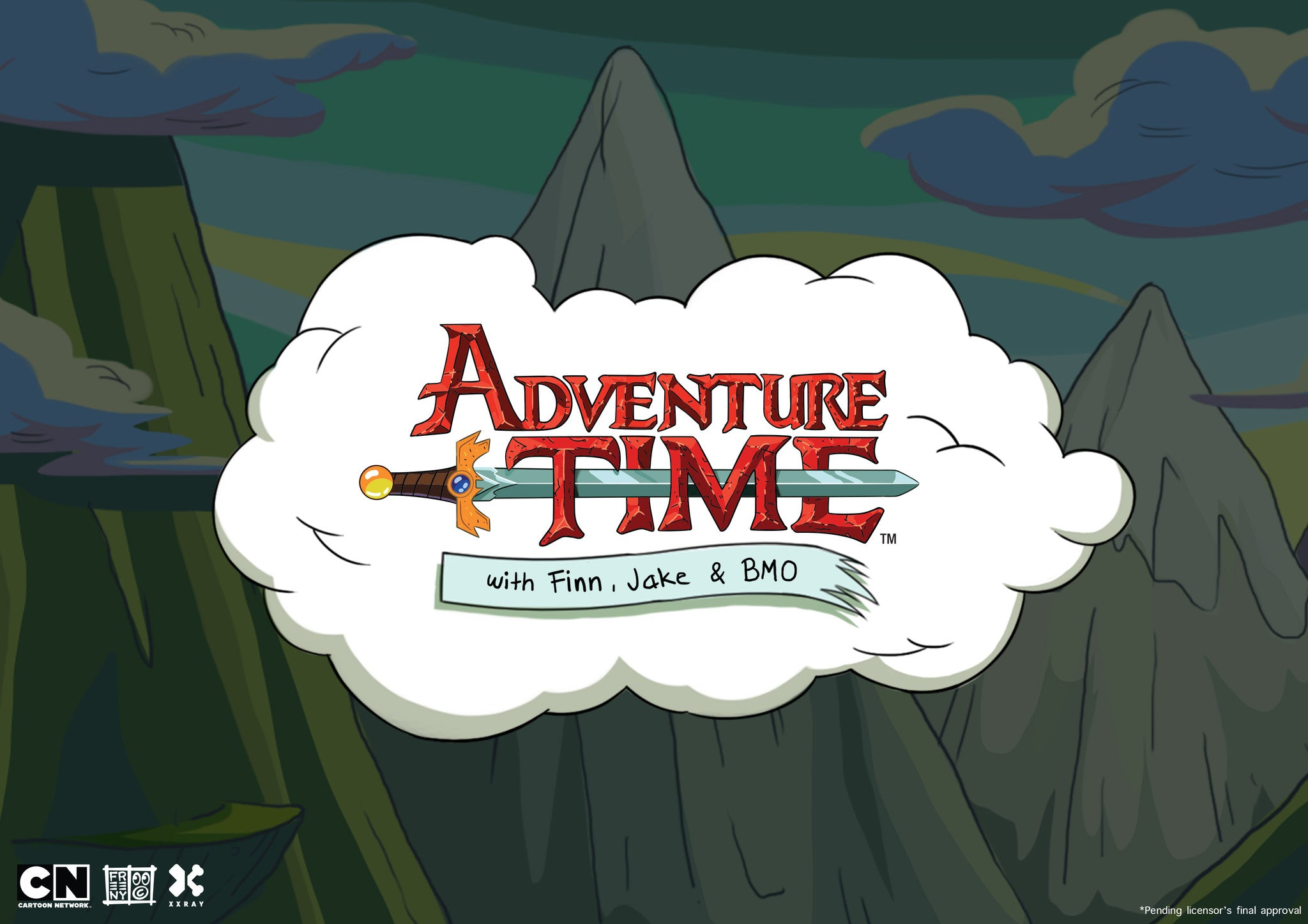 Worldwide debut of XXRAY Adventure Time