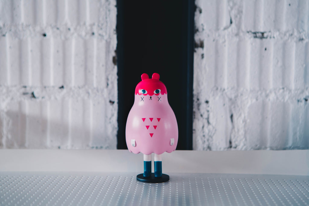 Boo Bear (pink) by Andrea Kang Product Shot
