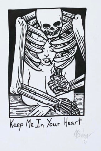 keep me in your heart illustration by matt bailey