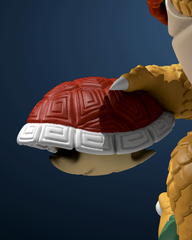 Turtle Daimao Power-Up: Red Carapace