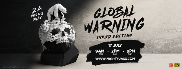 Global Warning (Inked Edition) Release Banner