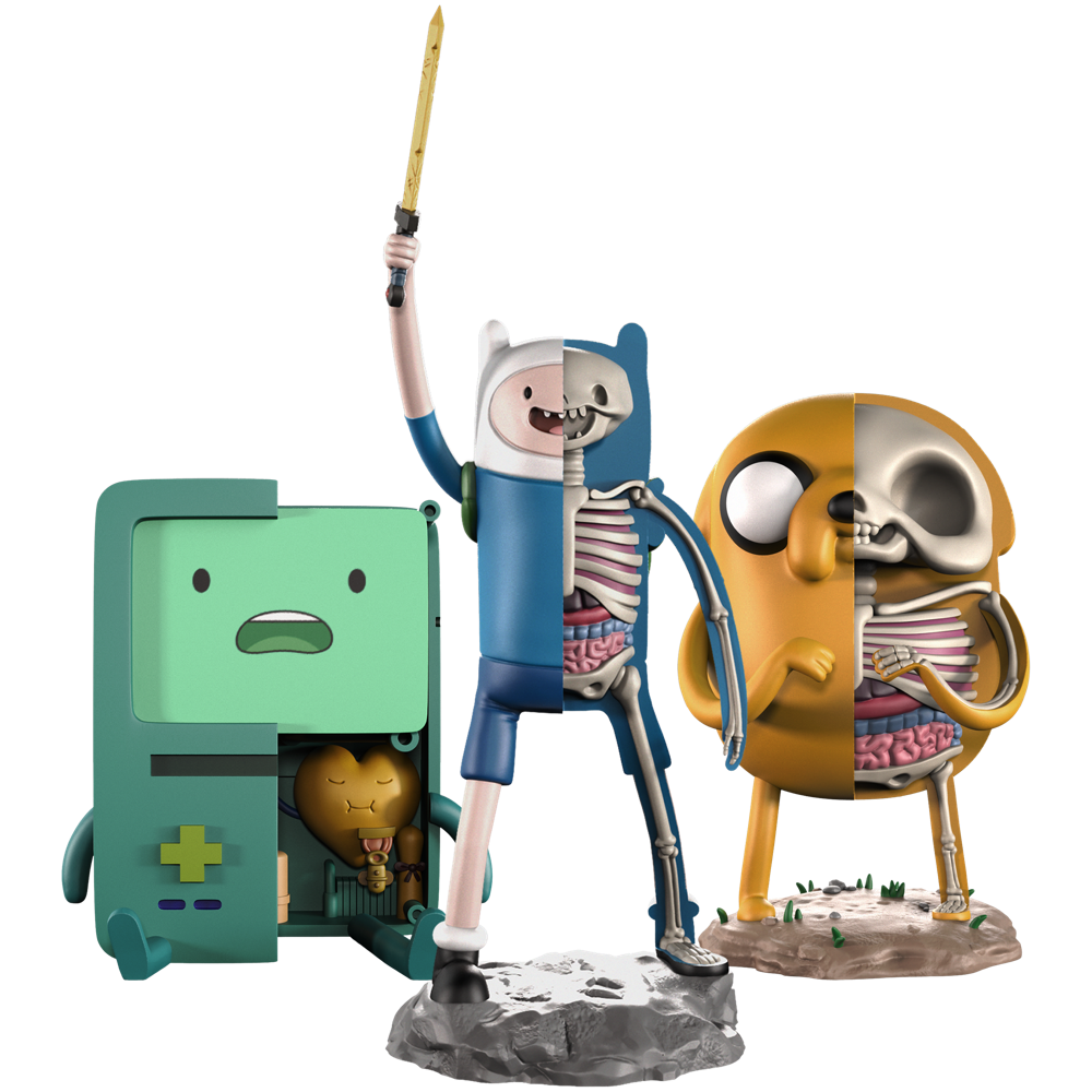 xxray adventure time by jason freeny