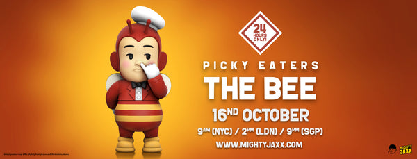 Picky Eaters: The Bee Release Banner