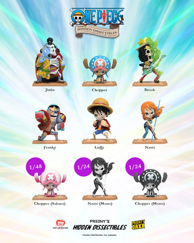 Freeny's Hidden Dissectibles: One Piece Wave 2 Character List