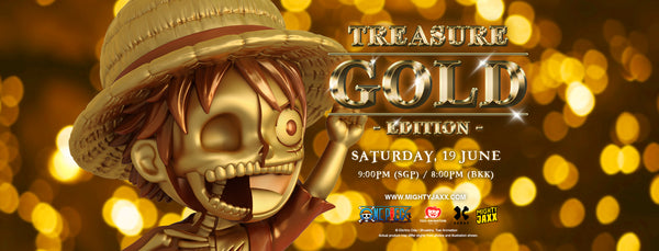 XXRAY Plus: Luffy (Treasure Gold) Release Banner