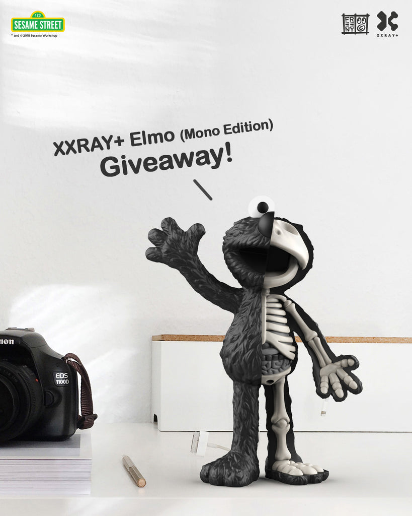 elmo giveaway poster