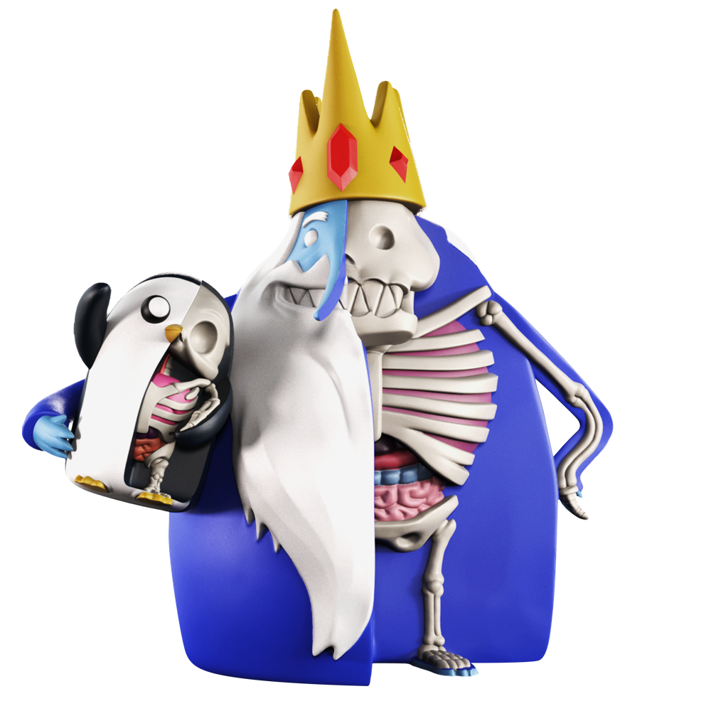 XXRAY PLUS: ICE KING & GUNTER