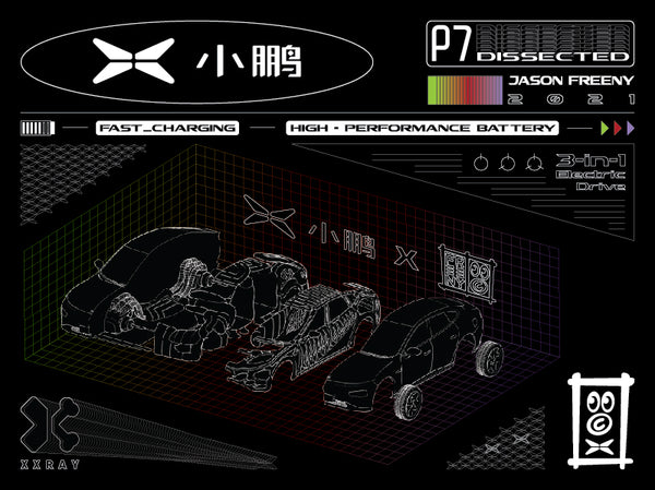 xpeng motors x jason freeny dissection poster