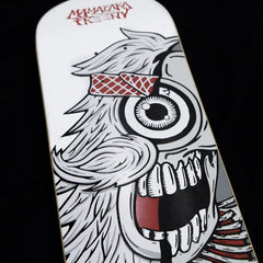 Dissected Mister HellYeah Skate Deck (White)