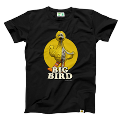 Black Big Bird T-shirt