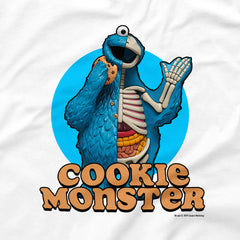 White Cookie Monster T-shirt