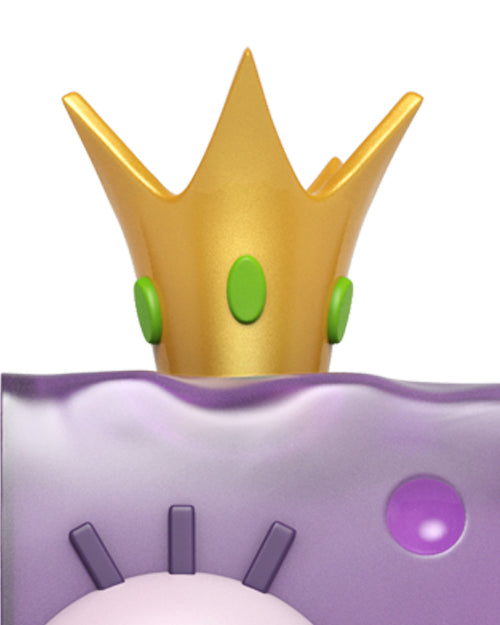 Complete with King Jellyfish's golden crown with green gems