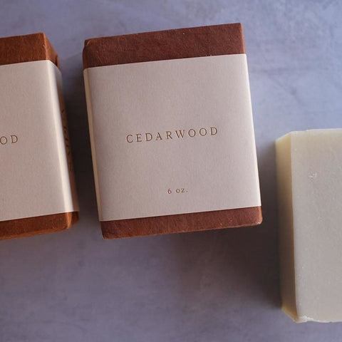 saipua soap | cedarwood