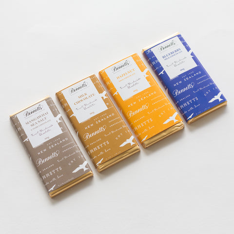 bennetts of mangawhai | chocolate bars