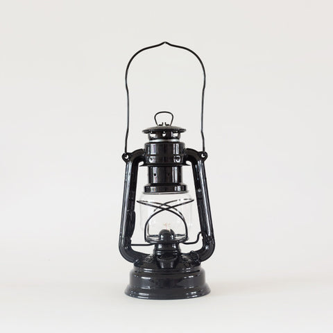 Feuerhand hurricane lantern black garden objects