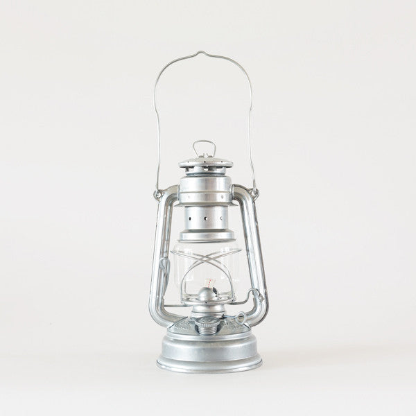 Feuerhand hurricane lantern zinc garden objects