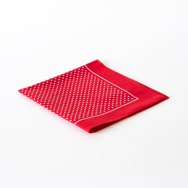 handkerchief | red